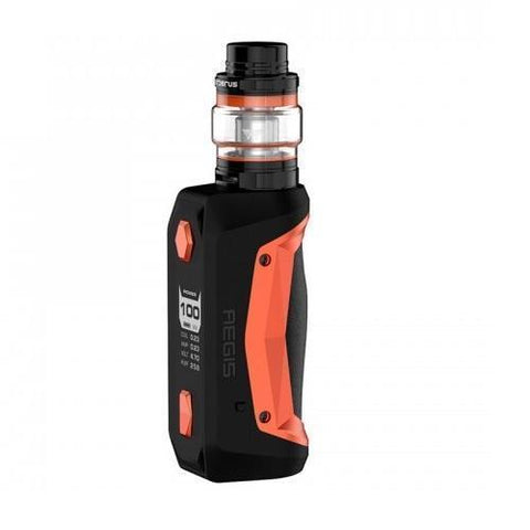 GeekVape Aegis Solo 100W Full Kit-Starter Kits-Free w/ 4 Bottles o2pur E-liquid - use code FREE4-Black Orange-FREEBOXMOD.COM