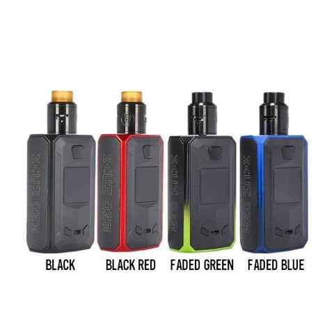 Mach On3 Squonk Mod Kit by United Society of Vape-Box Mods-Free w/ 6 Bottles o2pur E-liquid - use code FREE6-Black/Red-FREEBOXMOD.COM