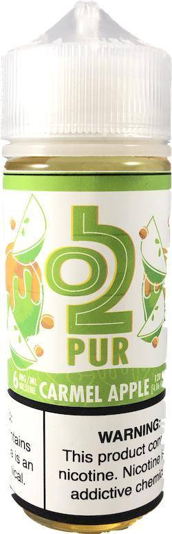 O2PUR 120mL, Caramel Apple