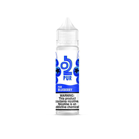 O2PUR Salt 60mL, Blueberry-E-Juice-O2PUR-12mg-FREEBOXMOD.COM