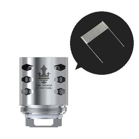 Smok TFV12 Prince Strip Coil-Replacement Coils-Free w/ 1 Bottle o2pur E-liquid - use code FREE1-0.15ohm-FREEBOXMOD.COM