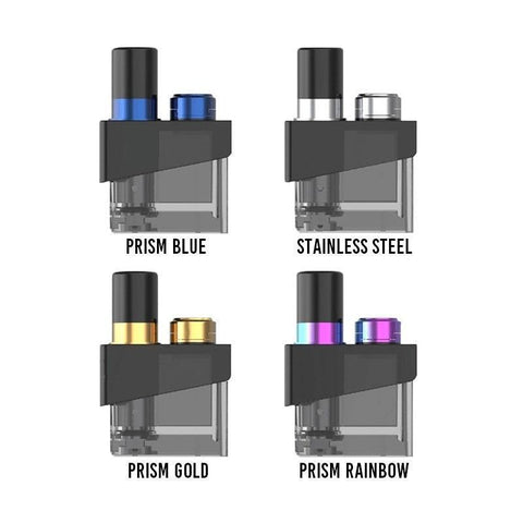Smok Trinity Alpha Replacement Pod (Pod only)-Refillable Pods-Free w/ 1 Bottle o2pur E-liquid - use code FREE1-Prism Blue-FREEBOXMOD.COM
