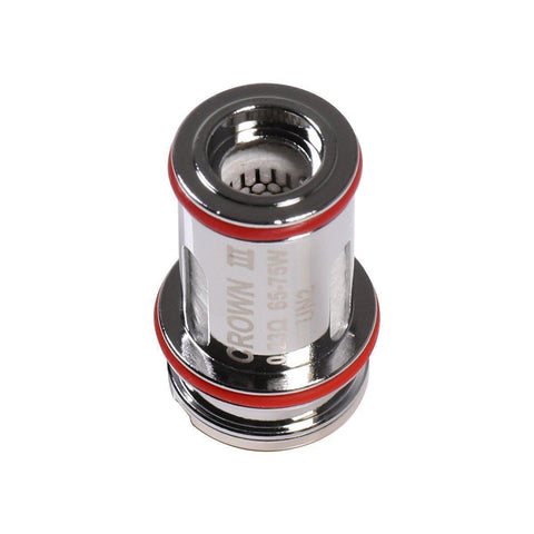 Uwell Crown V3 Mesh Coil-Replacement Coils-Free w/ 1 Bottle o2pur E-liquid - use code FREE1-0.23ohm-FREEBOXMOD.COM