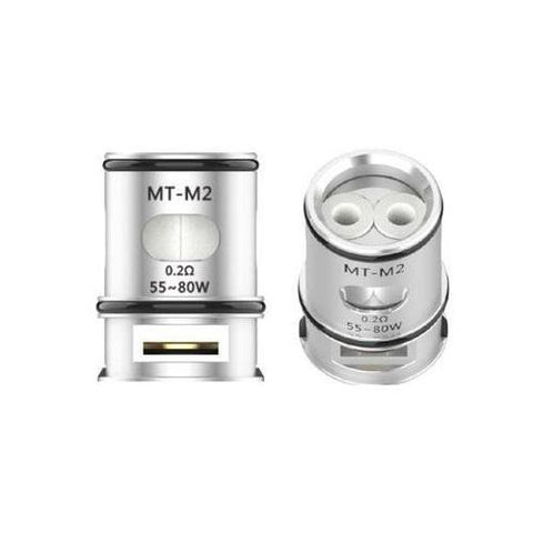 Voopoo MT-M2 Coil-Replacement Coils-Free w/ 2 Bottles o2pur E-liquid - use code FREE2-0.2ohm-FREEBOXMOD.COM