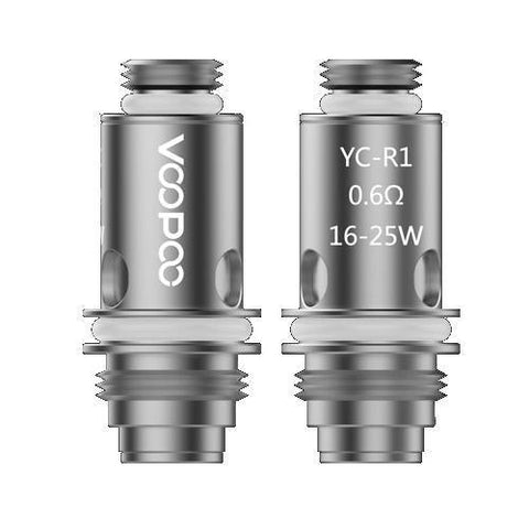Voopoo YC-R1 Coil-Replacement Coils-Free w/ 1 Bottle o2pur E-liquid - use code FREE1-0.6ohm-FREEBOXMOD.COM
