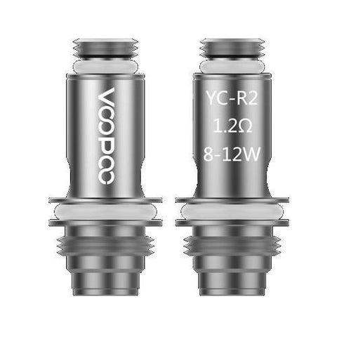 Voopoo YC-R2 Coil-Replacement Coils-Free w/ 1 Bottle o2pur E-liquid - use code FREE1-1.2ohm-FREEBOXMOD.COM
