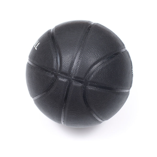 Veniceball Black Leather Basketball