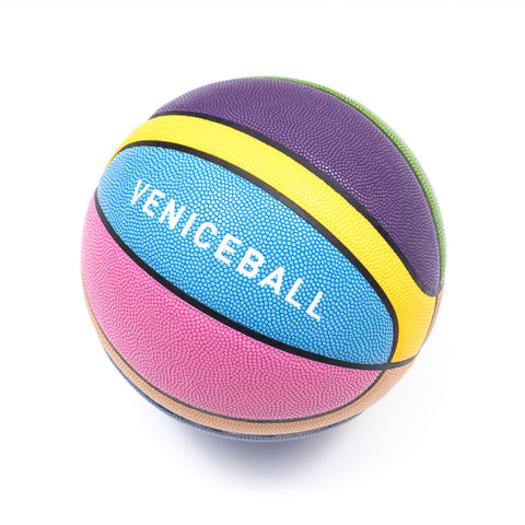 Veniceball Multi-Color Leather Basketball