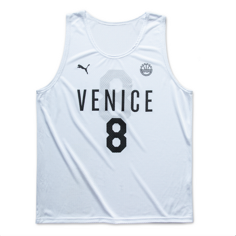 2020 Veniceball White Game Jersey