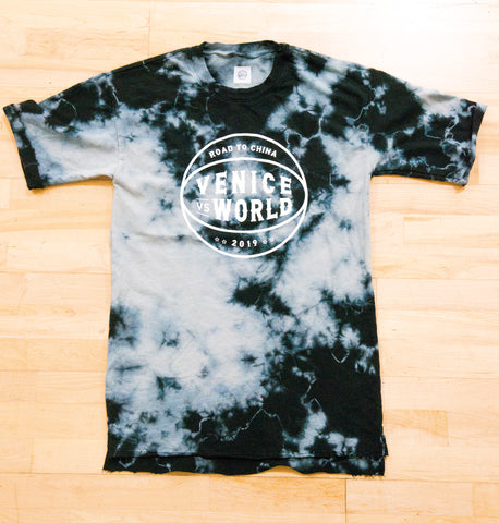 Venice VS World 2019 Tie Die Capsule - Cut & Sew in Los Angeles T Shirt