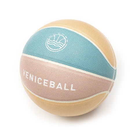 Veniceball Desert Tour 2019 Basketball (Pink/Yellow/Blue)