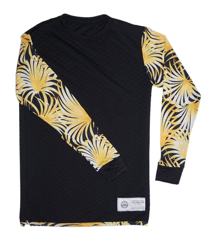VBL lifestyle quilted crewneck