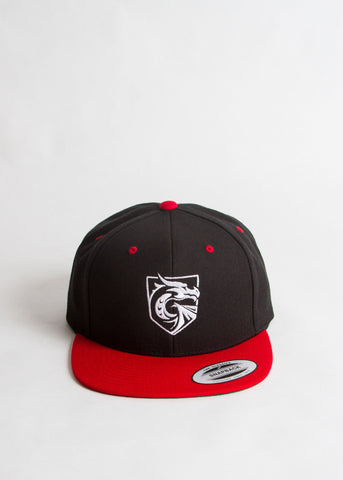 Red Bill Snapback Hat