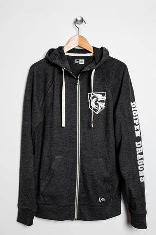 Dragon Hooded Zip Up