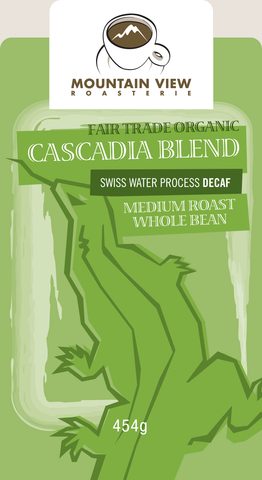 SWP Decaffeinated Cascadia - Green Coffee Beans