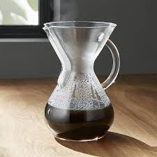 Chemex® - Two to Six Cup Glass Handle Coffmaker