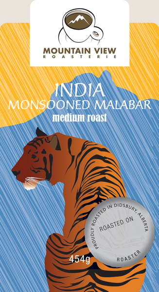 India Monsooned Malabar - Green coffee beans