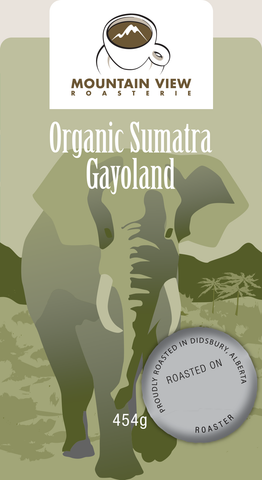 Sumatra Gayoland - Green Coffee Beans
