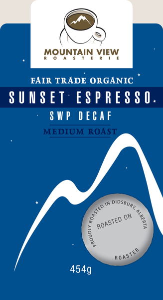 Swiss Water Process Decaffeinated Sunset Espresso