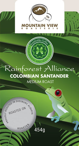Colombia Santander  - Green Coffee Beans