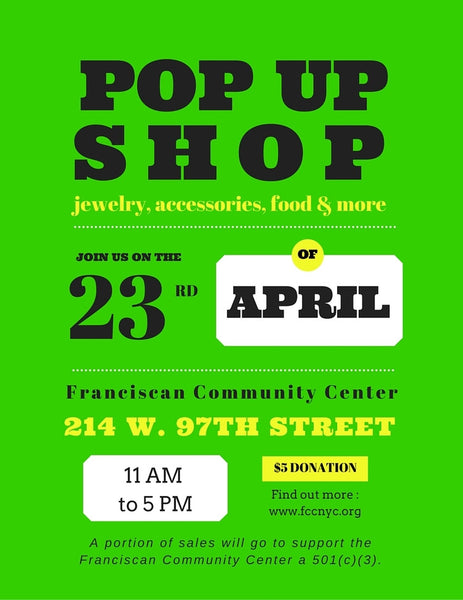 Visit RestoPresto in person in NYC: POP UP SHOP on 4/23/16