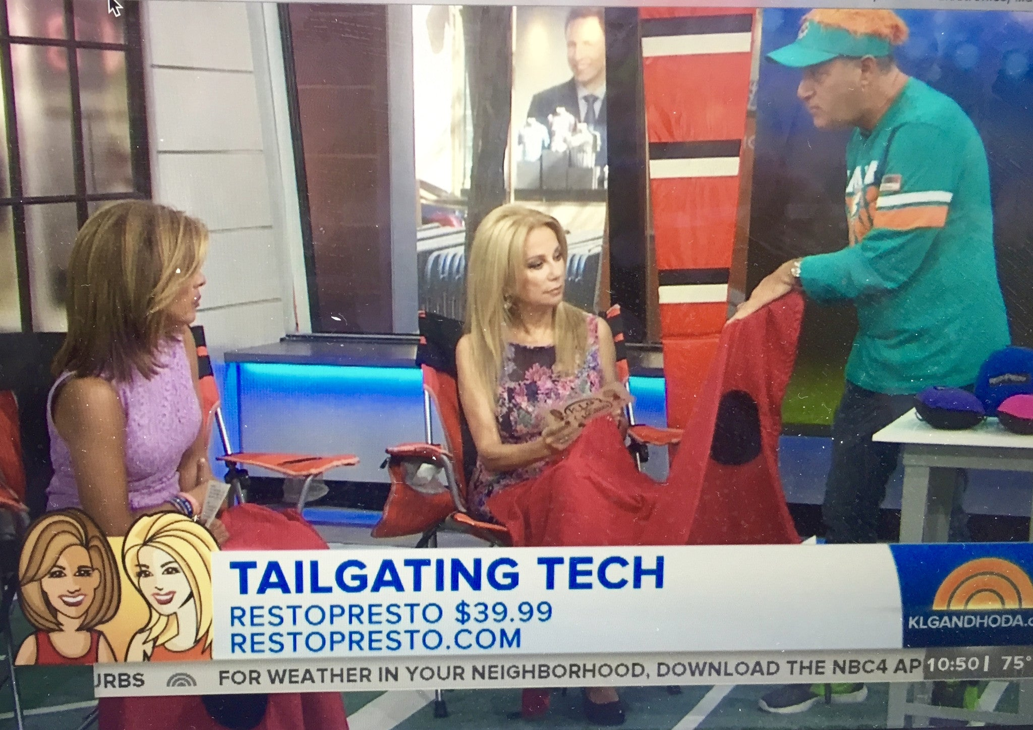 RestoPresto was featured on the TODAY SHOW with Kathie Lee & Hoda!