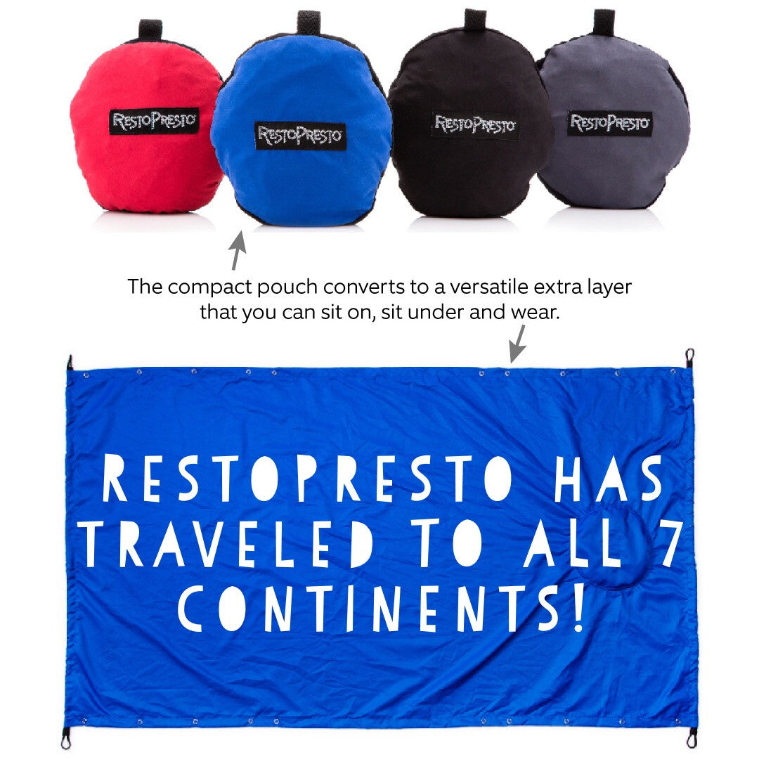 RestoPresto has traveled to ALL 7 continents!