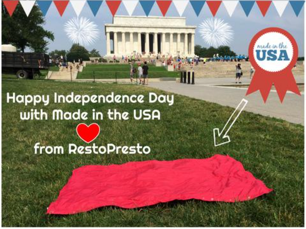 Happy Independence Day from RestoPresto!