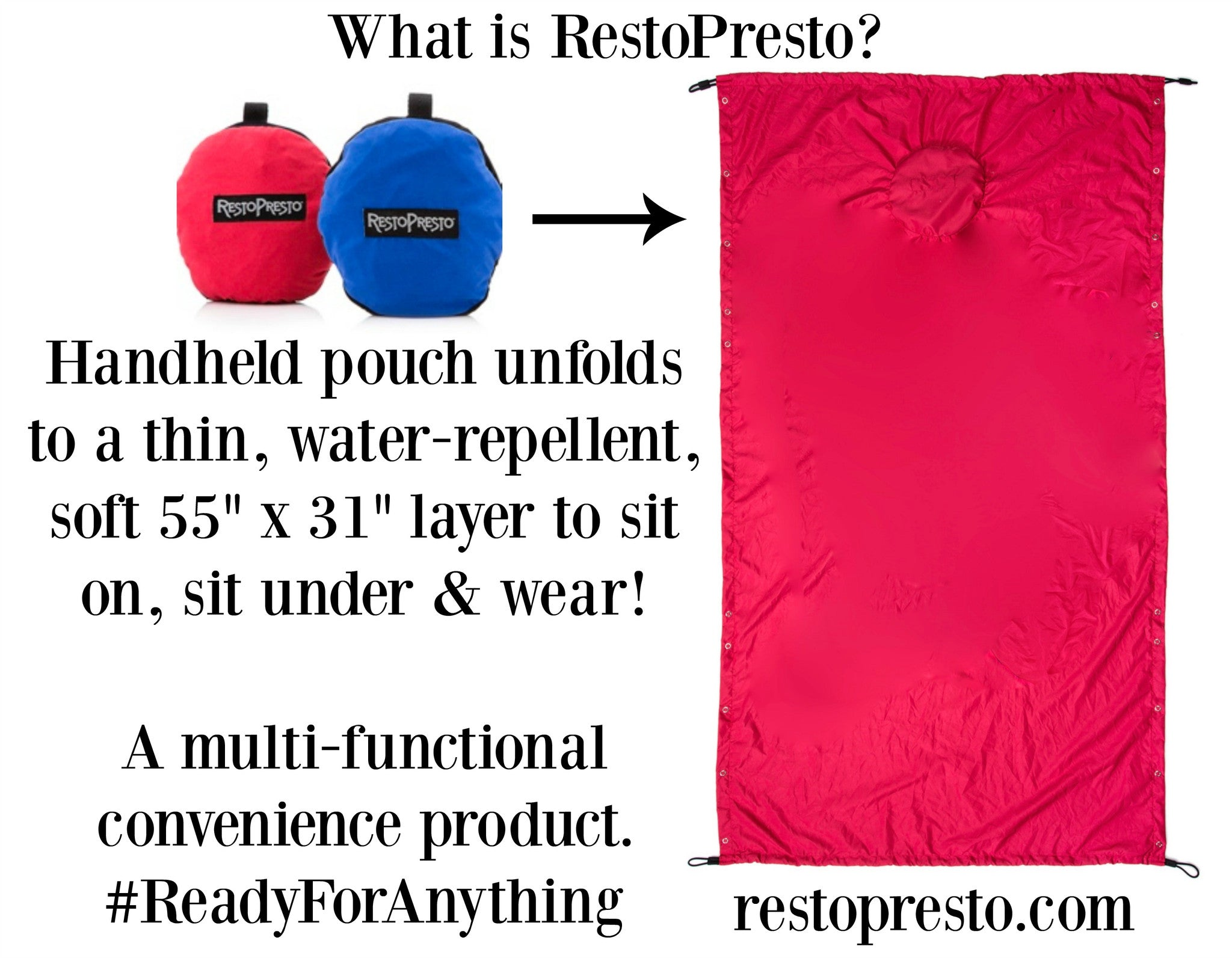 Falcons! Patriots! Your SUPER BOWL must have = RestoPresto!