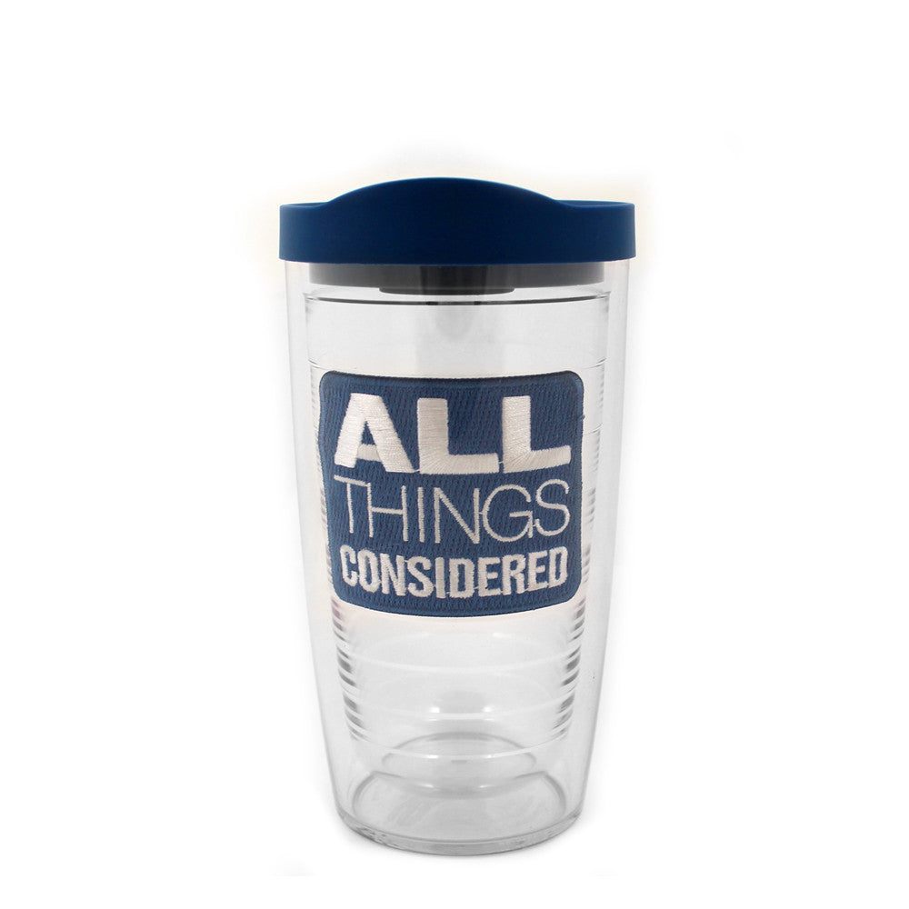 All Things Considered Tervis Tumbler: 16oz
