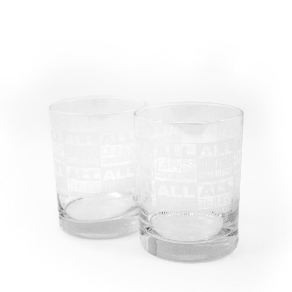 All Things Considered Double Old Fashioned Glasses Set