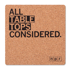 All Tables Considered Coaster