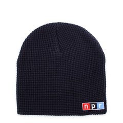 Color Logo Beanie: Navy
