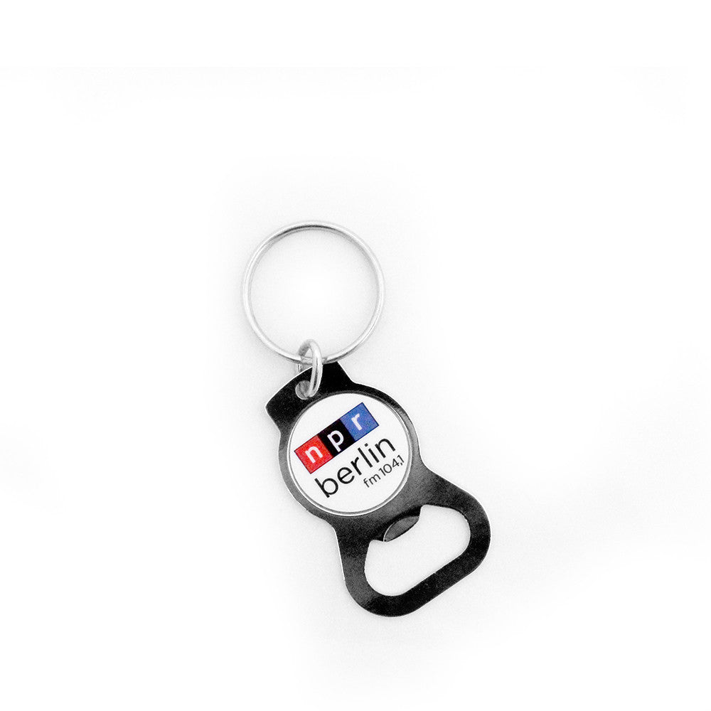 NPR Berlin Key Chain w/ Bottle Opener