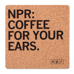 Coffee for Your Ears Coaster
