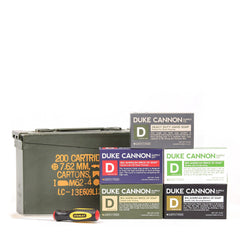 Duke Cannon Co. Ammo Can Soap Gift Set