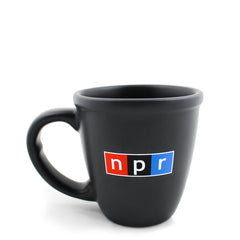 NPR Logo Mug: Dark Grey