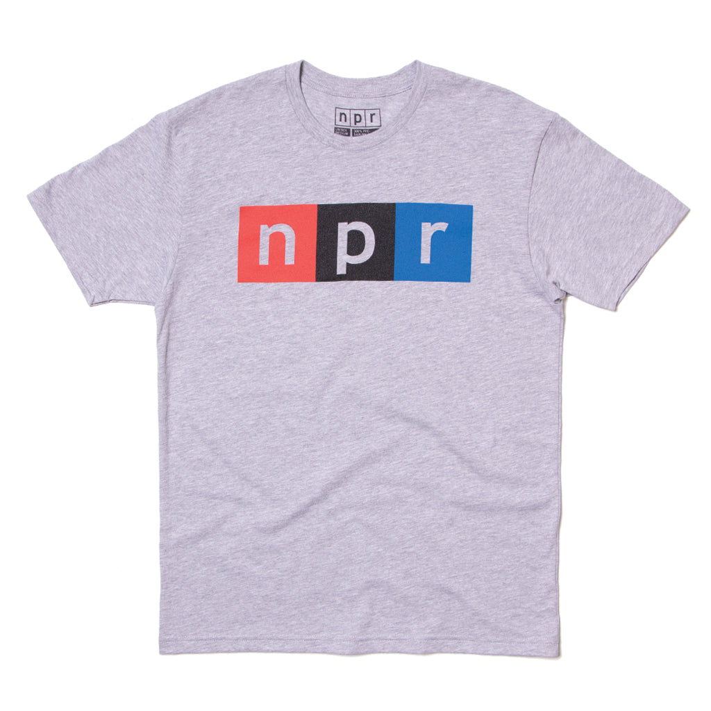 NPR Color Tee Gray