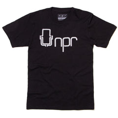 70's Logo T-shirt: Black