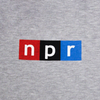 NPR Logo Bodysuit: Heather Grey