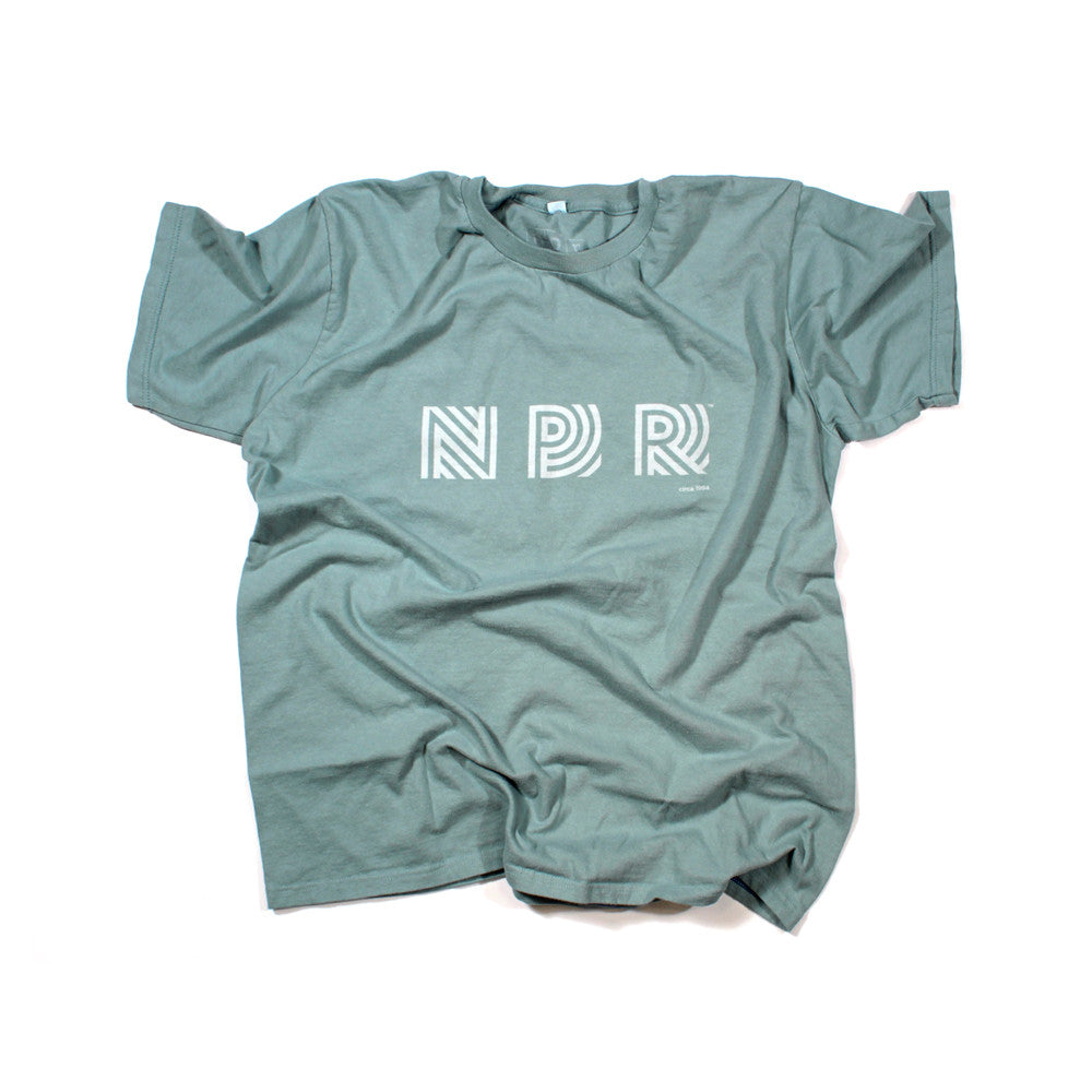 Retro 90s Logo T-Shirt:  Sea Foam