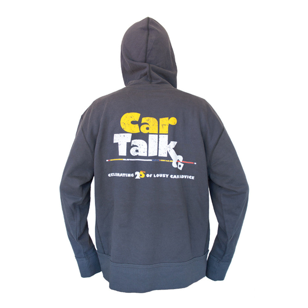 Car Talk Anniversary Distressed Hoodie