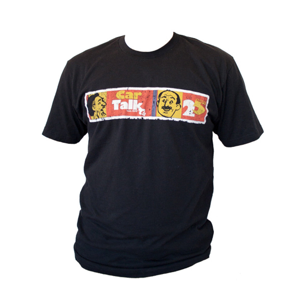 Car Talk 25th Anniversary Distressed T-Shirt