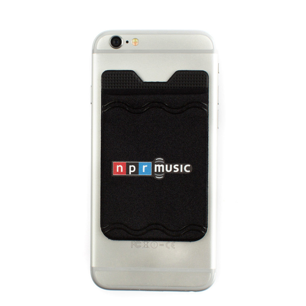 Kanga Gadget Grip Phone Pocket with NPR Music Logo