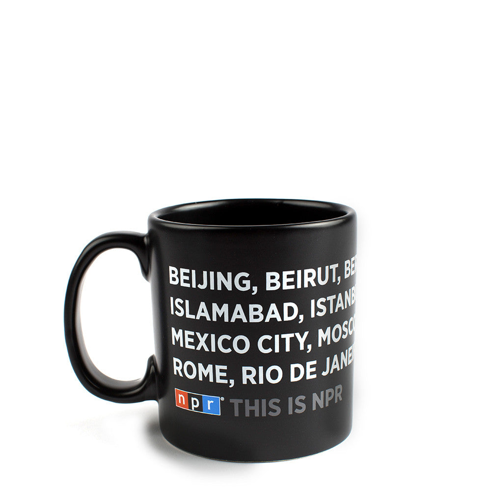 NPR International Mega Mug
