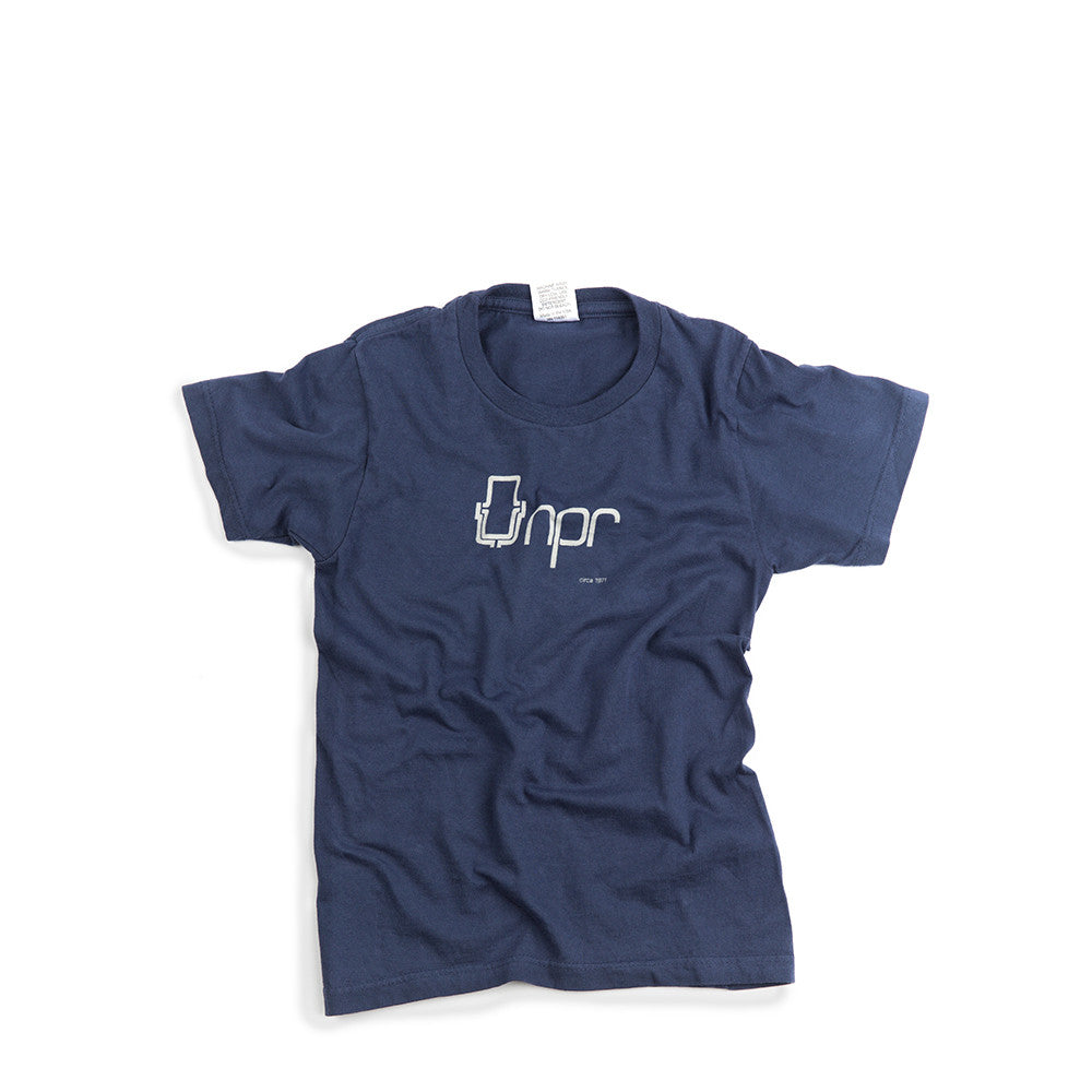 Retro NPR Logo Kid's Tee