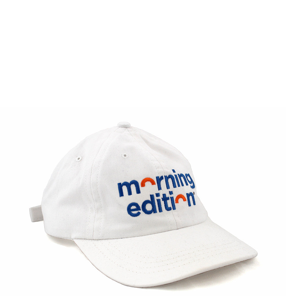 Morning Edition Cap: White