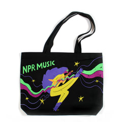 NPR Music Cartoon Tote