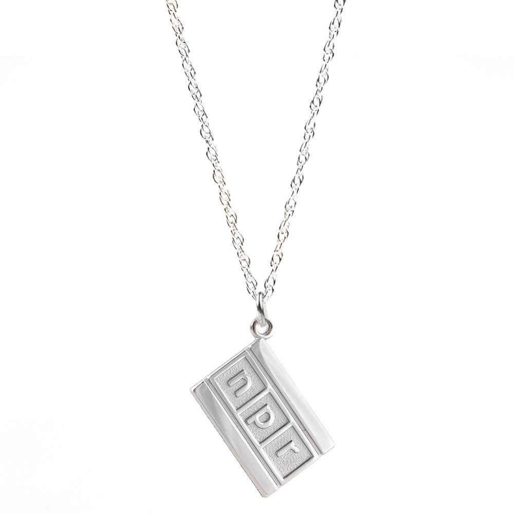 Necklace with Logo Charm