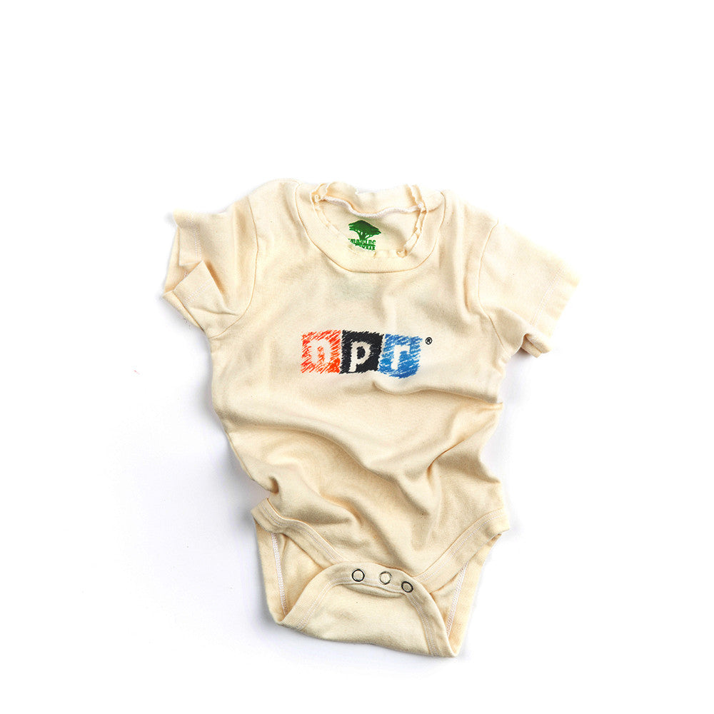 Organic Cotton NPR Onesie